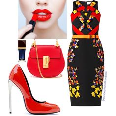 Liz by elizabethhorrell on Polyvore featuring polyvore fashion style Peter Pilotto Chloé Vicini