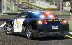 Police Vehicles, Emergency Vehicles, Police Cars, National Police, Gtr R35, Nissan Gt, Nissan Skyline, Grand Theft Auto, Courses
