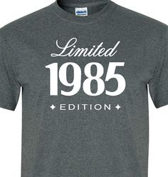 30th Birthday Gift For Him Her 1985 Limited by MilwaukeeApparel