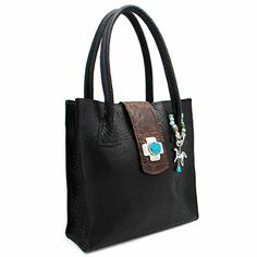 Eternal Perspective Rebecca Two-Tone Buffalo Handbag at Maverick Western Wear