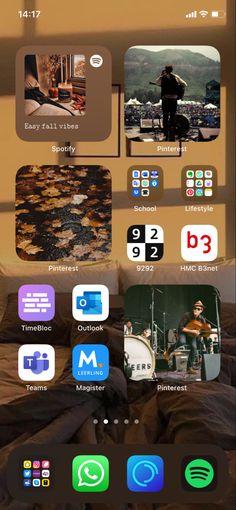 The Lumineers, Autumn Home, Homescreen, Aesthetic Wallpapers, Ios, Iphone