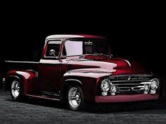 Custom Pickup Trucks, Old Ford Trucks, Old Pickup Trucks, Classic Pickup Trucks, Ford Classic Cars, Auto Retro, Vintage Trucks, Cool Trucks, Custom Cars