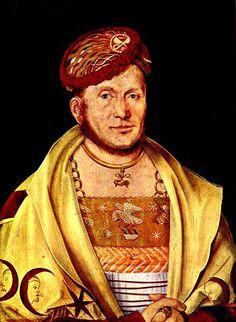 Porträt des Markgrafen Casimir von Brandenburg, Hans Süß von Kulmbach, 1511