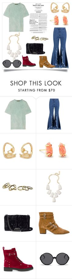 """""""Your Your Style"""" by kristeen9 ❤ liked on Polyvore featuring Roberto Cavalli, Goen.J, Charlotte Chesnais, Kendra Scott, Rebecca Minkoff, Tabitha Simmons, Fendi and Linda Farrow"""
