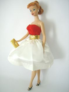 Silken Flame - favorite dress to wear to the prom when playing the Barbie game.