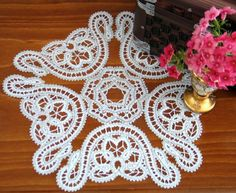 Advanced Embroidery Designs - FSL Battenberg Flower Bell Lace Set