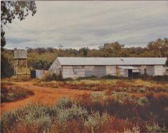 Woolshed, Wuttagoona, Cobar, NSW. 1984.