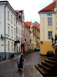 I talked to someone on Tumblr who's from Estonia and they say Tallinn is one of the most beautiful towns in the country :)  I really wannna gooo