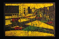 Katarzyna Wolicka, batik  #batik #art #wax
