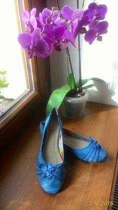Nové balerínky s kytičkou vel. 40