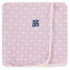 Kickee Pants Girl Natural Pig Swaddling Blanket Swaddle New