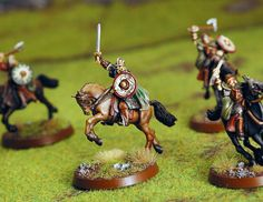 "Rohirrim, from Games Workshop's ""Lord of the Rings"" line"