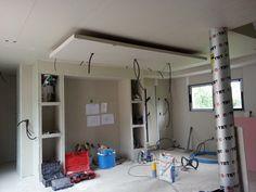 Photos de faux plafond avec lumi re indirecte les groupes sur int rieur - Coffre eclairage plafond ...