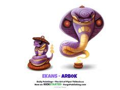 Ekans - Arbok by Cryptid-Creations.deviantart.com on @DeviantArt
