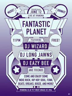 Fantastic Planet RVA www.brianvillalon.com