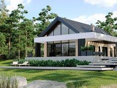 DOM.PL™ - Projekt domu CPT HomeKoncept-66 A CE - DOM CP4-93 - gotowy koszt budowy Teak, House Plans, Sweet Home, House Design, Interior, Outdoor Decor, Home Decor, Homemade Home Decor, Houses