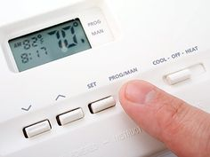 "By linking your cell phone with a ""smart thermostat,"" you can regulate your home's heating and cooling system from anywhere on the planet."