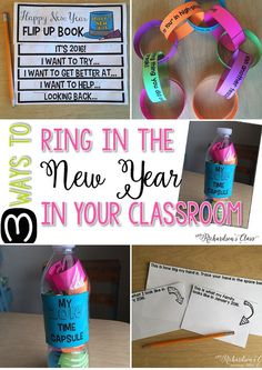 3 Ways to Ring in the New Year in Your Classroom - Mrs. Richardson's Class