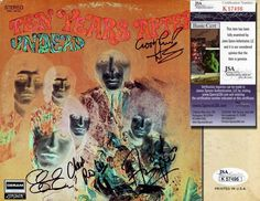 TEN YEARS AFTER Hand Signed  Undead  LP - 4 SIGS - JSA COA - UACC RD #289