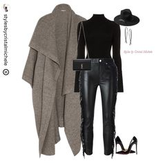 Will always be my fav loo Cute Swag Outfits, Stylish Outfits, Fashion Outfits, Fall Winter Outfits, Autumn Winter Fashion, Curvy Fashion, Fashion Looks, Plus Sise, Mode Hijab