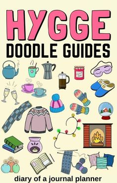 Make your next bullet journal theme Hygge to try out these super adorable cosy doodles! Learn how to draw them yourself with our doodle tutorials. #hygge #hyggedoodles #doodle #howtodoodles #bulletjournaldoodles #doodleguide Bullet Journal Art, Bullet Journal Themes, Doodle Drawings, Easy Drawings, Small Drawings, Happy Birthday Doodles, Easy Doodle Art, Doodle Ideas, Coffee Doodle