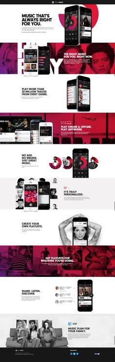 https://beatsmusic.com/ / wed design / website design / music web design