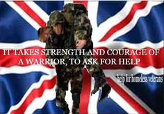 Combat Stress do a great job to help our heroes but it shouldn't be left to a charity