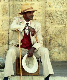 Cuban havana men's clothes