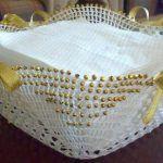 Dantelden Peçetelik Yapımı | Örgü Dünyası Tissue Holders, Facial Tissue