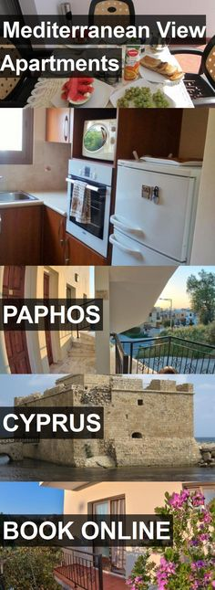 Mediterranean View Apartments in Paphos, Cyprus. For more information, photos, reviews and best prices please follow the link. #Cyprus #Paphos #travel #vacation #apartment