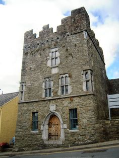 This is Desmond Castle, ancient stronghold of the Earls of Desmond