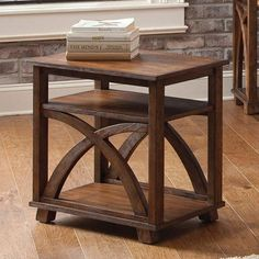 Chesapeake Bay Rectangular Sunset Chairside Table - 335-OT1021