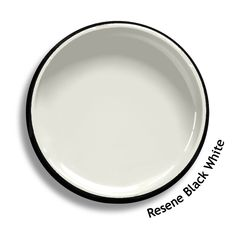 Resene Black White is a calcite grey white, chalky and soft.  From the Resene Multifinish colour collection. Try a Resene testpot or view a physical sample at your Resene ColorShop or Reseller before making your final colour choice. www.resene.co.nz