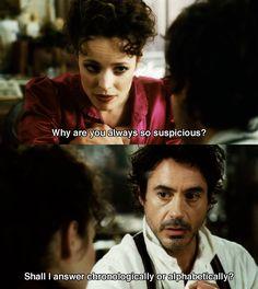 INFJ/INTJ tendencies...always just a little suspicious...lol