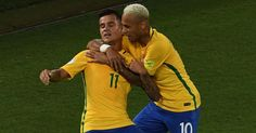 Watch Philippe Coutinho Roberto Firmino and Neymar score in Brazil 2018 World Cup qualifying victory