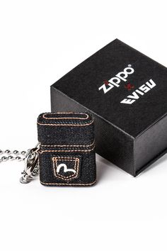 a124c481516f Evisu Jeans team-up with Zippo to create the best lighter ever seen. They  made a special denim lighter edition which is made.