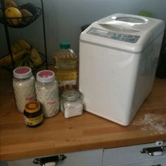 soy flour bread machine recipe