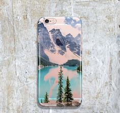 iPhone 6 Case Mountain, Soft iPhone 6s Case, iPhone 6 Case Clear with Design, iPhone 6 Case Tree, iPhone 5s Case Rubber KT068-5481 by BoBooCase on Etsy https://www.etsy.com/listing/286748679/iphone-6-case-mountain-soft-iphone-6s