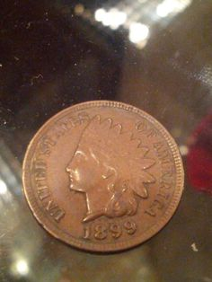 1899 Lovely Indian Head penny by DrewsCollectibles on Etsy, $14.97
