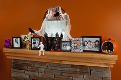 Kodak Moments:  - Make your mantel the spookiest with Halloween photo projects.