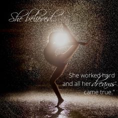 Parkwood Dance Academy is where you can believe and work hard. Dance Academy, Dream Come True, Beautiful Words, Work Hard, Believe, World, Movie Posters, Inspiration, Image