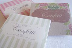 {diy Wedding Projects} Crafty Confetti Pouch