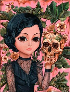 This looks like a latino version of Mark Ryden's work