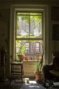 Through the Window You could write something wonderful while looking out this window… www.mysoulfulhome.com