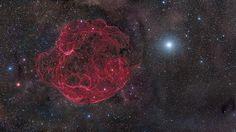 Simeis 147 Remanente de Supernova, de Rogelio Bernal Andreo (EE.UU.)