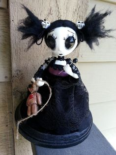 SALE Handmade Doll BlackEyed Susan by MoodyVoodies on Etsy, $99.99