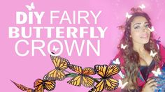 How to make Fairy Crown Monarch Butterfly ✴️ HSAMABLOG