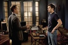 Picture: Chad Lowe and Ian Harding in 'Pretty Little Liars.' Pic is in a photo gallery for Ian Harding featuring 21 pictures. Garrett Reynolds, Pll Actors, Ezra And Aria, Chad Lowe, Toby Cavanaugh, Tammin Sursok, Ezra Fitz, Ian Harding, Tyler Blackburn