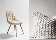 NEUTRAL HEAVEN - Interior Design and Mood Creation: The Knitted Home - Chunky Knits