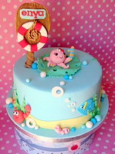 Under the Sea theme Cake - Cake by Apple
